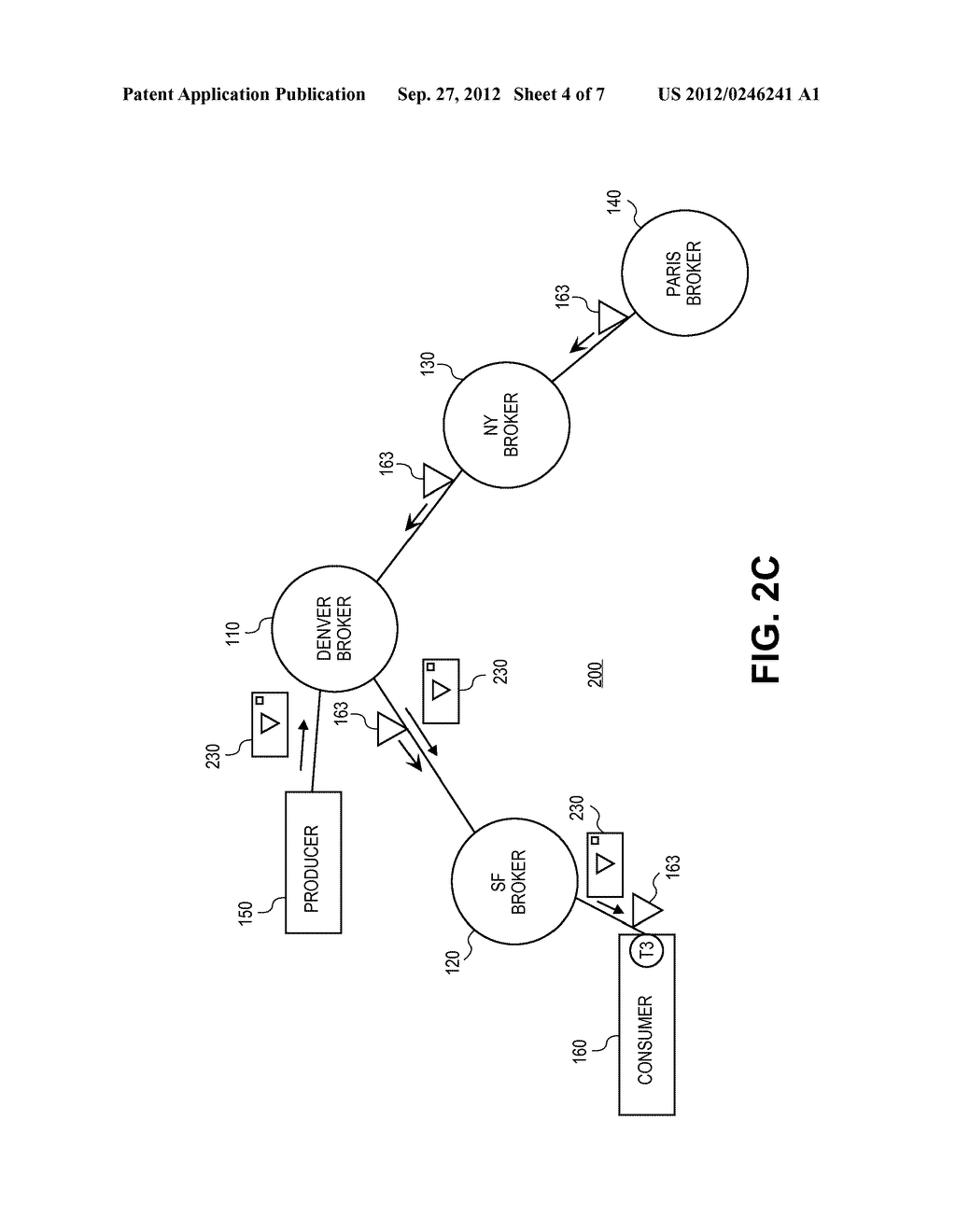 SYSTEMS AND METHODS FOR PROVIDING DISTRIBUTED DYNAMIC ROUTING USING A     LOGICAL BROKER - diagram, schematic, and image 05