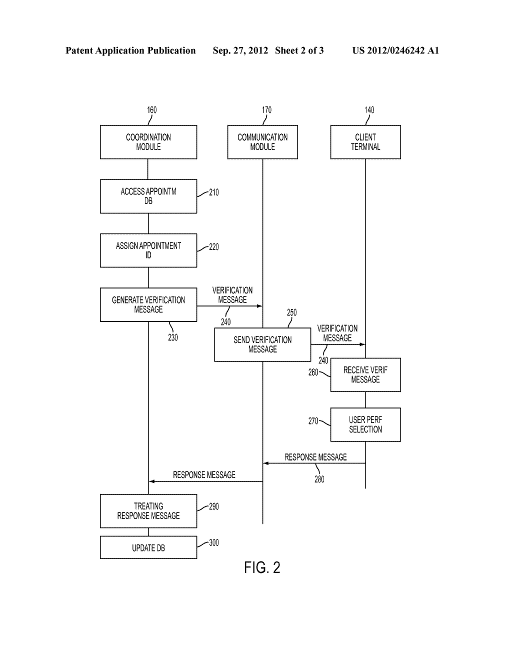 SYSTEM AND METHOD FOR ELECTRONICALLY CONFIRMING APPOINTMENTS - diagram, schematic, and image 03