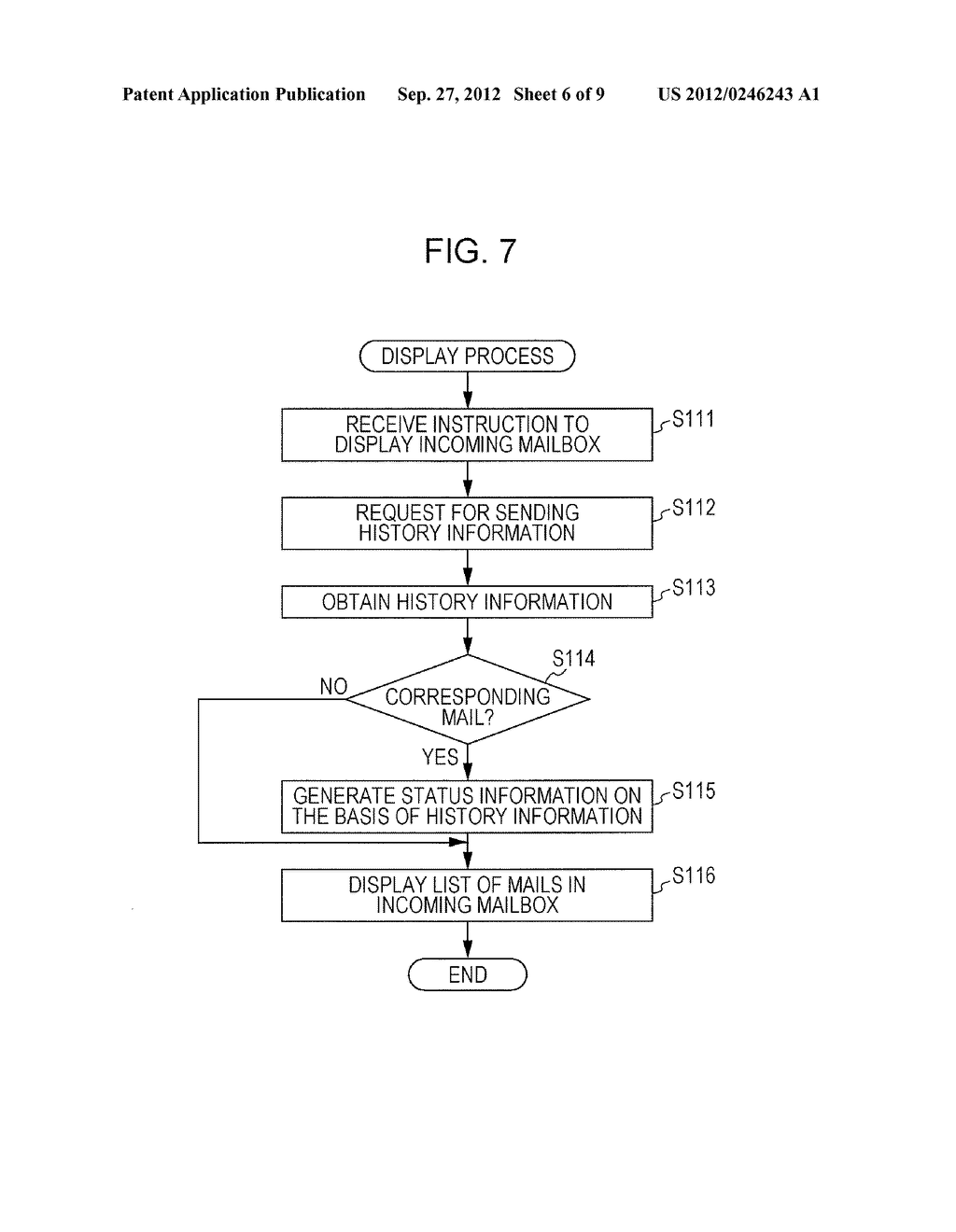 ELECTRONIC MAIL SYSTEM, USER TERMINAL APPARATUS, INFORMATION PROVIDING     APPARATUS, AND COMPUTER READABLE MEDIUM - diagram, schematic, and image 07