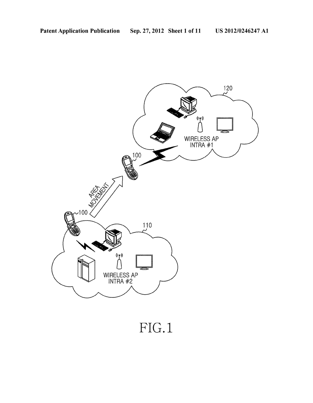 METHOD, APPARATUS AND SYSTEM FOR INFORMATION PUSH SERVICE BASED ON     WIRELESS LAN ACCESS POINT - diagram, schematic, and image 02