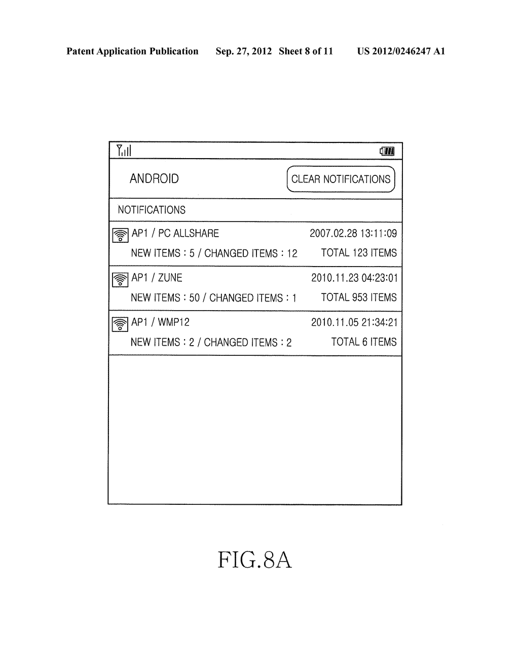 METHOD, APPARATUS AND SYSTEM FOR INFORMATION PUSH SERVICE BASED ON     WIRELESS LAN ACCESS POINT - diagram, schematic, and image 09