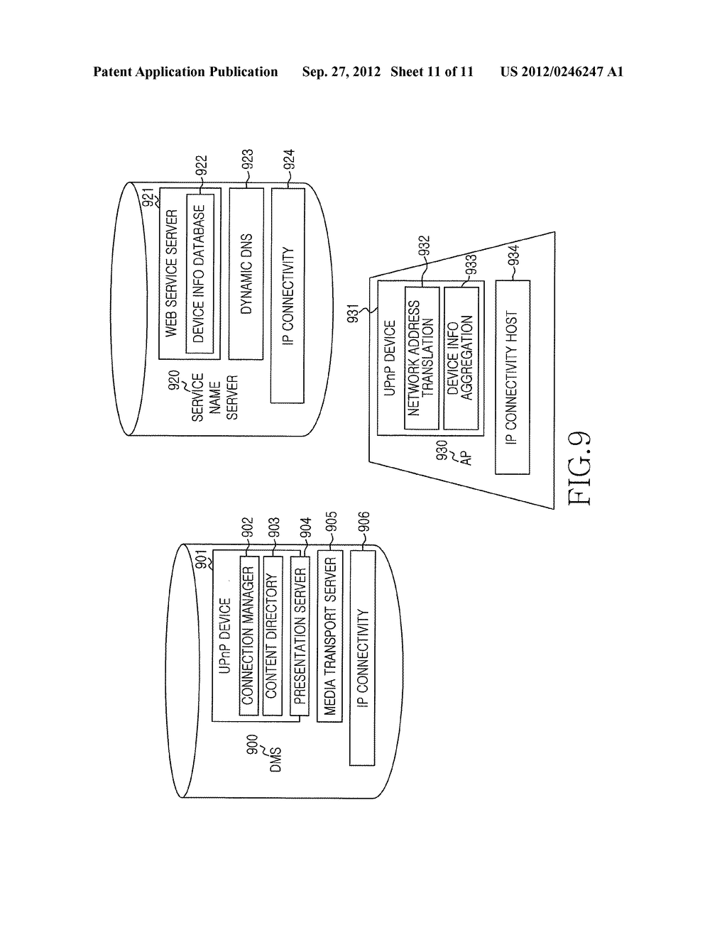 METHOD, APPARATUS AND SYSTEM FOR INFORMATION PUSH SERVICE BASED ON     WIRELESS LAN ACCESS POINT - diagram, schematic, and image 12