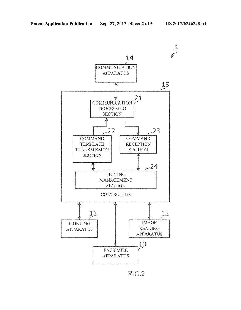 Image Forming Apparatus that Transmits/Receives an Electronic Mail Related     to Image Formation, Image Forming Method, and Recording Medium - diagram, schematic, and image 03