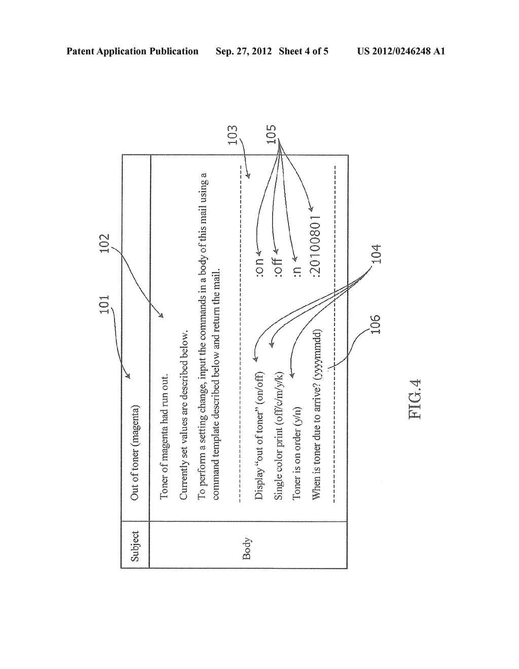 Image Forming Apparatus that Transmits/Receives an Electronic Mail Related     to Image Formation, Image Forming Method, and Recording Medium - diagram, schematic, and image 05