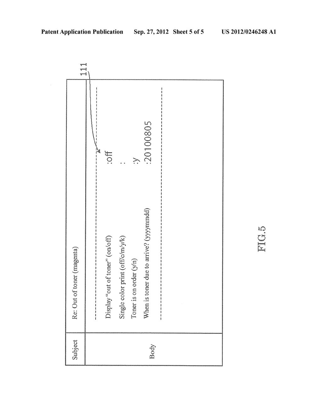 Image Forming Apparatus that Transmits/Receives an Electronic Mail Related     to Image Formation, Image Forming Method, and Recording Medium - diagram, schematic, and image 06