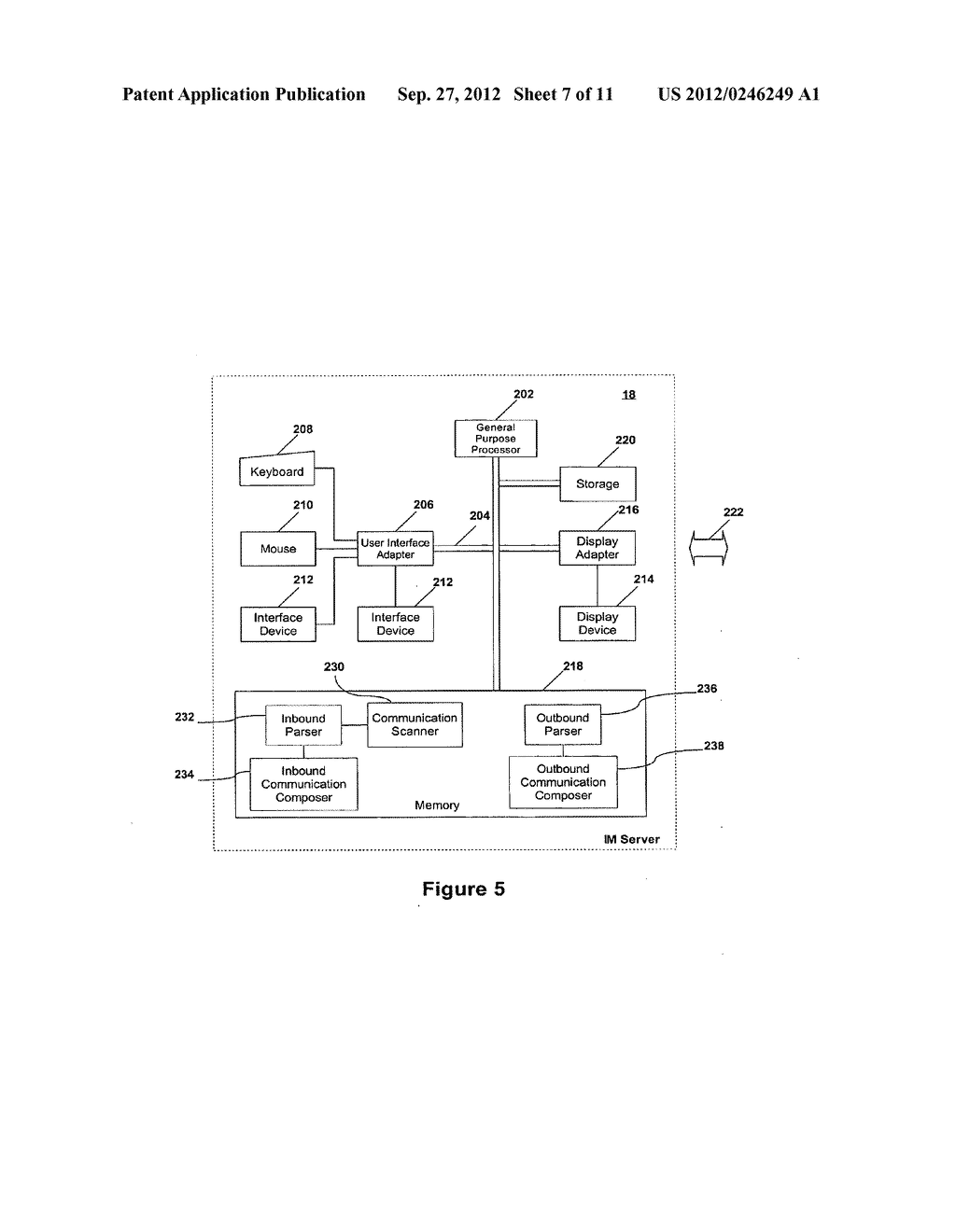 SYSTEM AND METHOD FOR PROCESSING SECURITIES TRADING INSTRUCTIONS AND     COMMUNICATING ORDER STATUS VIA A MESSAGING INTERFACE - diagram, schematic, and image 08