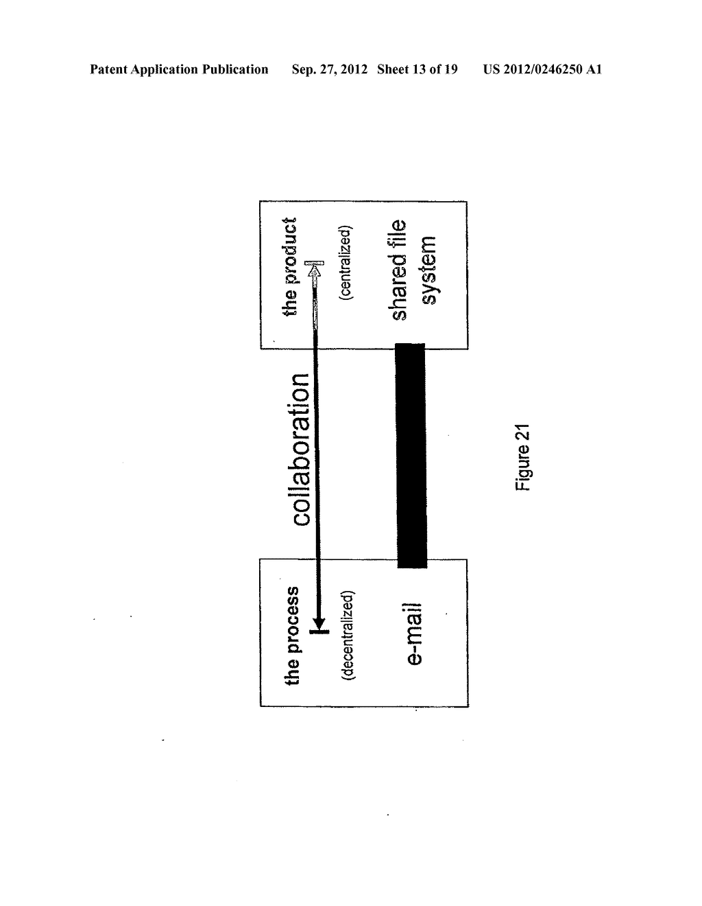 Network Operating System and Method for Messaging within an Access Control     Model - diagram, schematic, and image 14