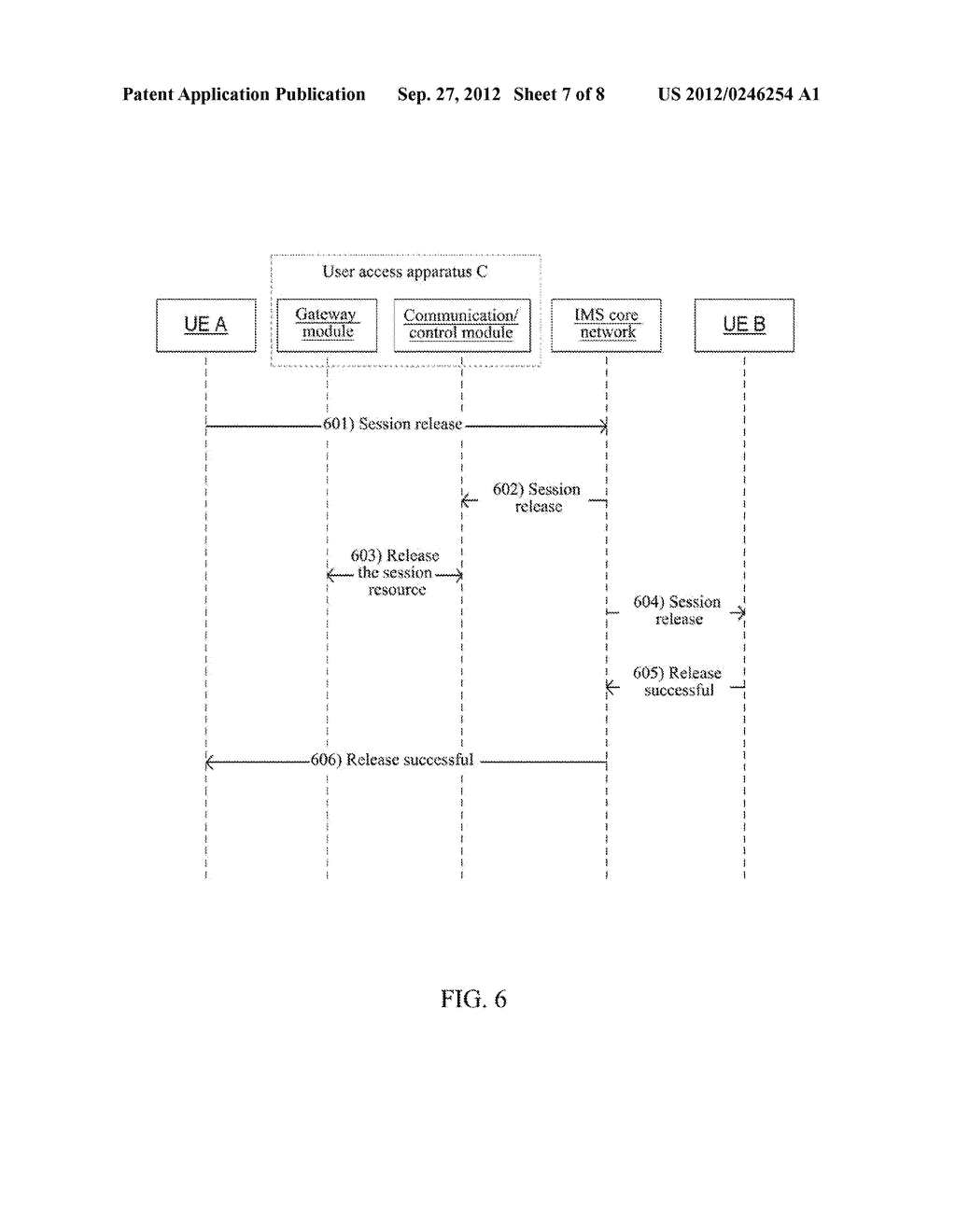 Method and Apparatus for User Equipment Accessing in IP Multimedia     Subsystem - diagram, schematic, and image 08