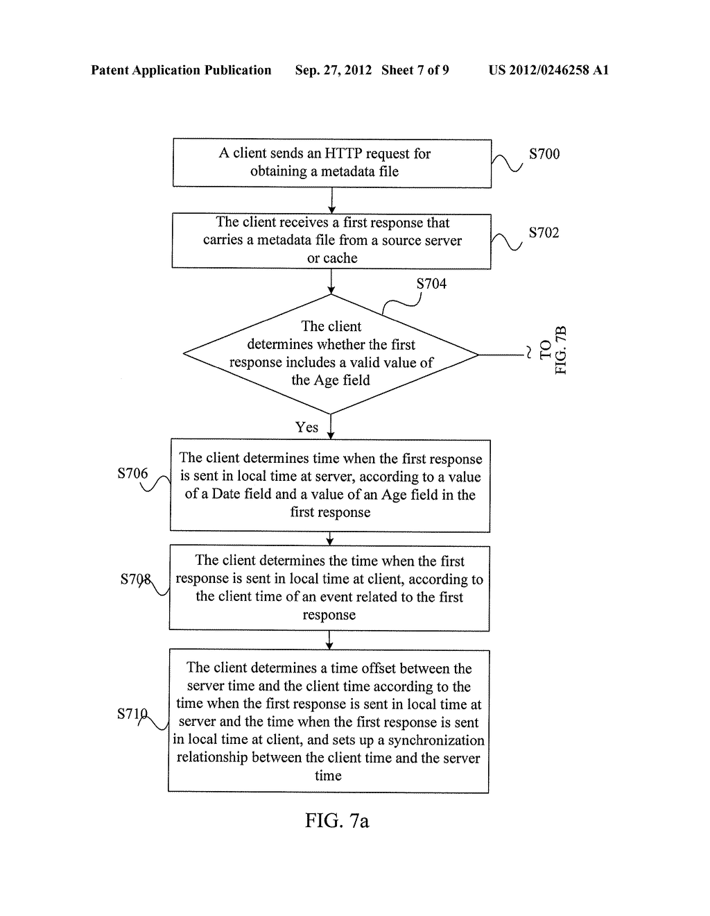 HTTP-BASED SYNCHRONIZATION METHOD AND APPARATUS - diagram, schematic, and image 08