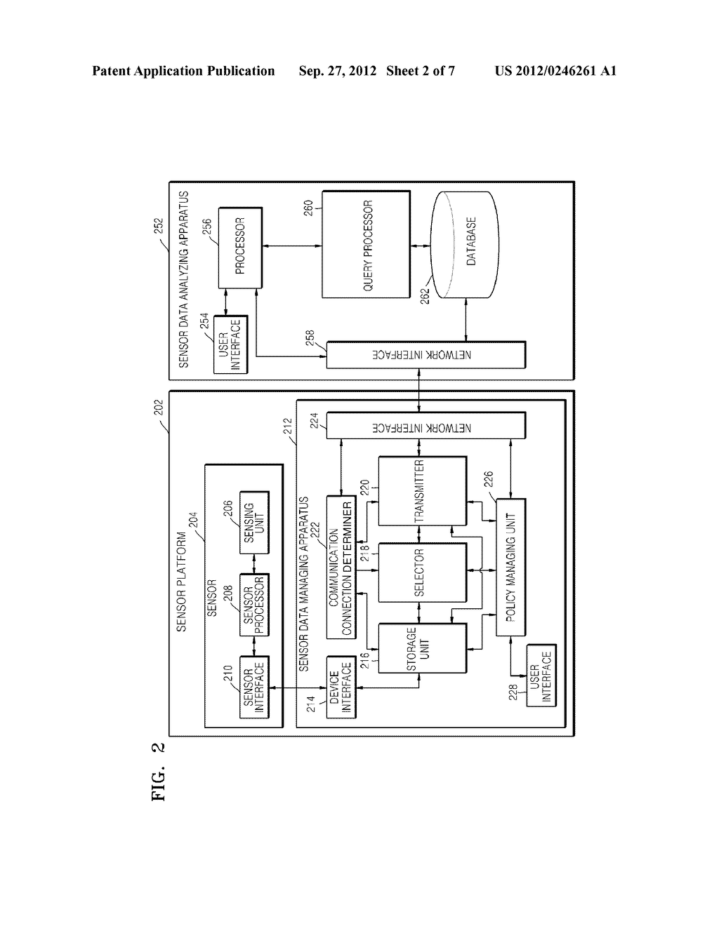 METHOD AND APPARATUS FOR MANAGING SENSOR DATA AND METHOD AND APPARATUS FOR     ANALYZING SENSOR DATA - diagram, schematic, and image 03