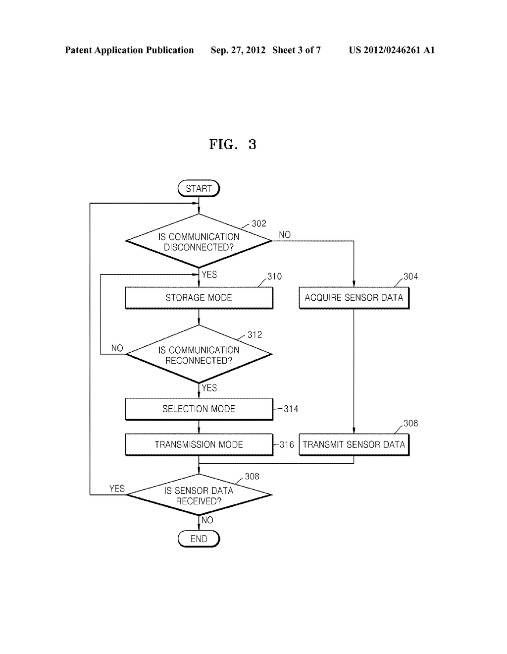 METHOD AND APPARATUS FOR MANAGING SENSOR DATA AND METHOD AND APPARATUS FOR     ANALYZING SENSOR DATA - diagram, schematic, and image 04