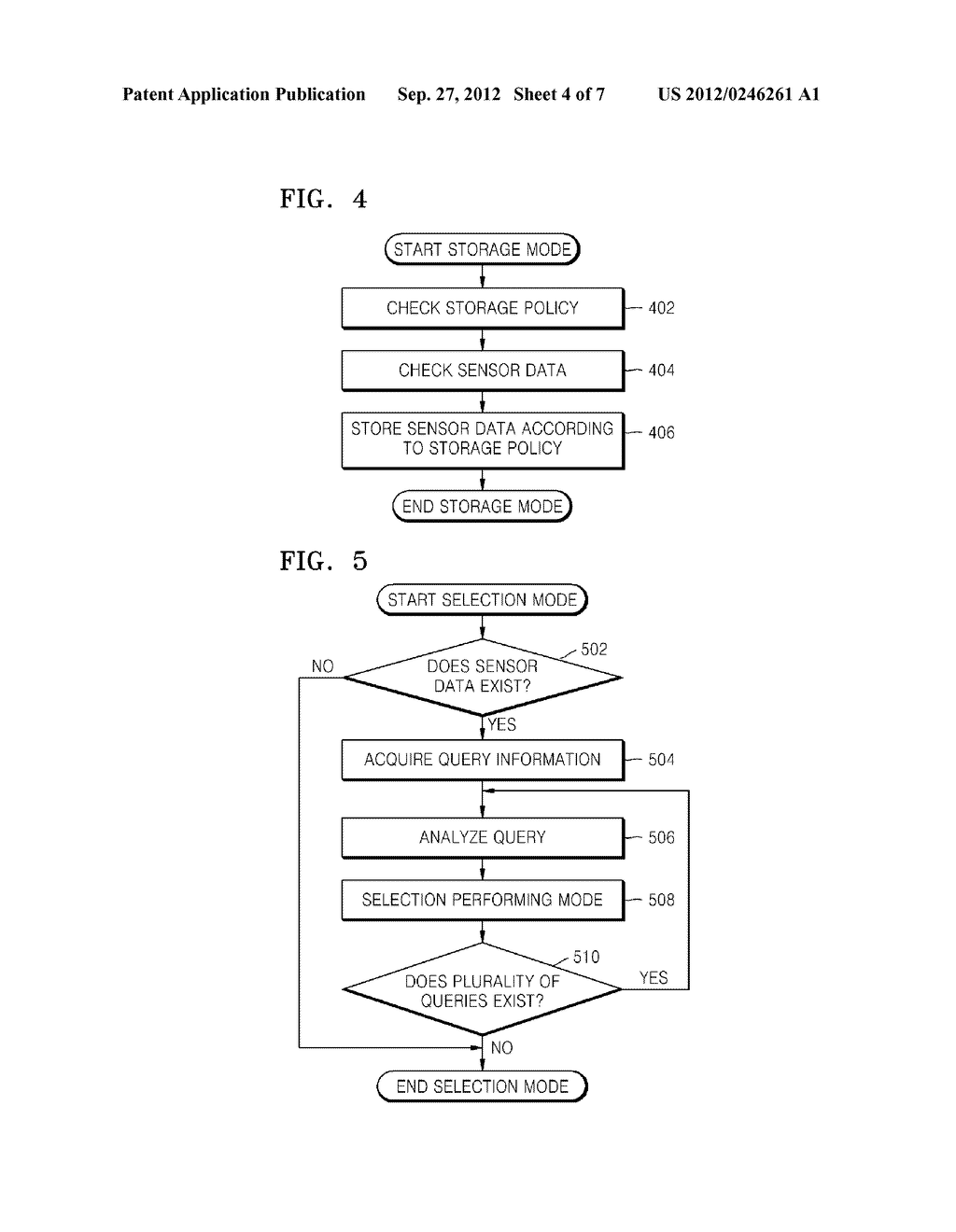 METHOD AND APPARATUS FOR MANAGING SENSOR DATA AND METHOD AND APPARATUS FOR     ANALYZING SENSOR DATA - diagram, schematic, and image 05
