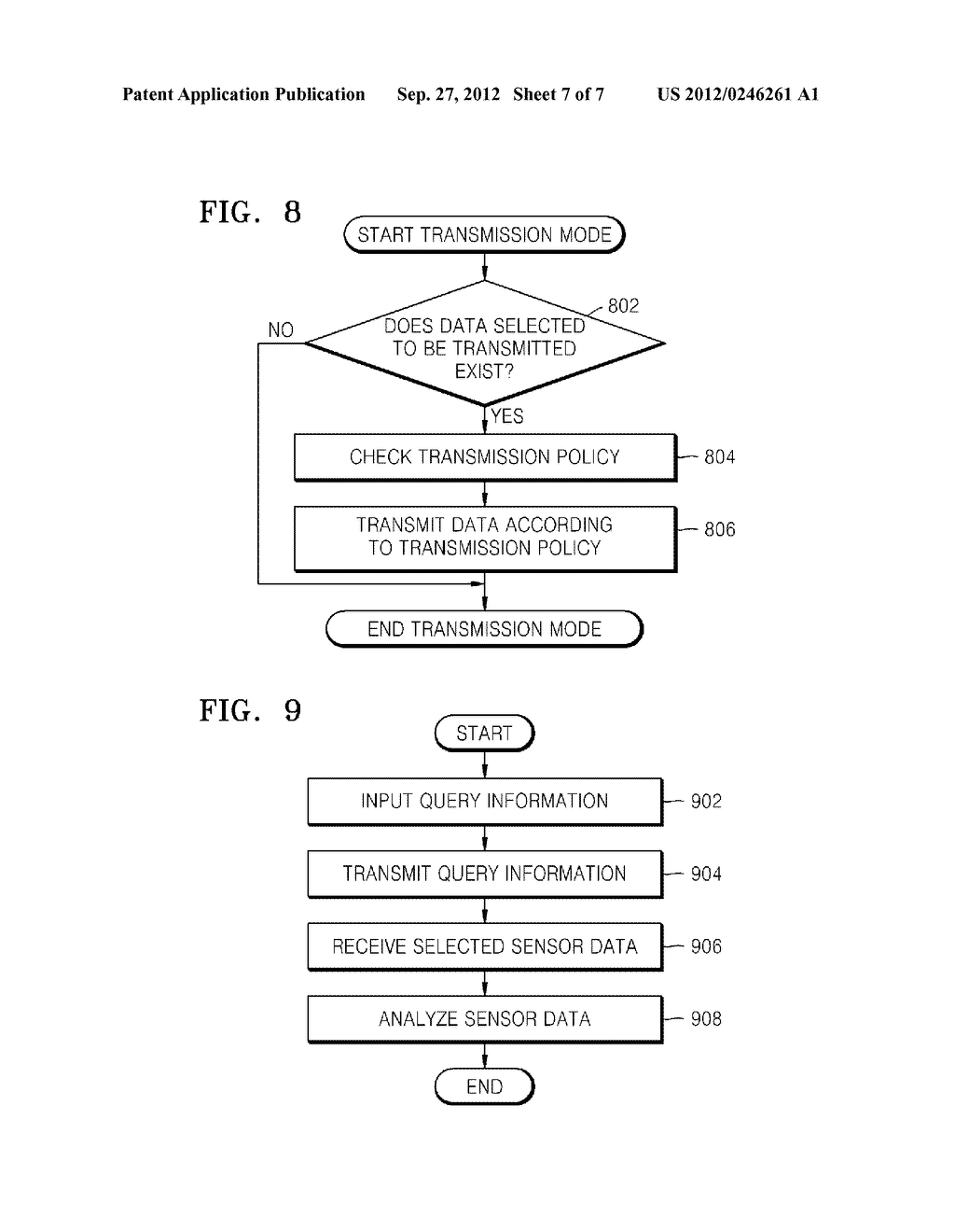METHOD AND APPARATUS FOR MANAGING SENSOR DATA AND METHOD AND APPARATUS FOR     ANALYZING SENSOR DATA - diagram, schematic, and image 08