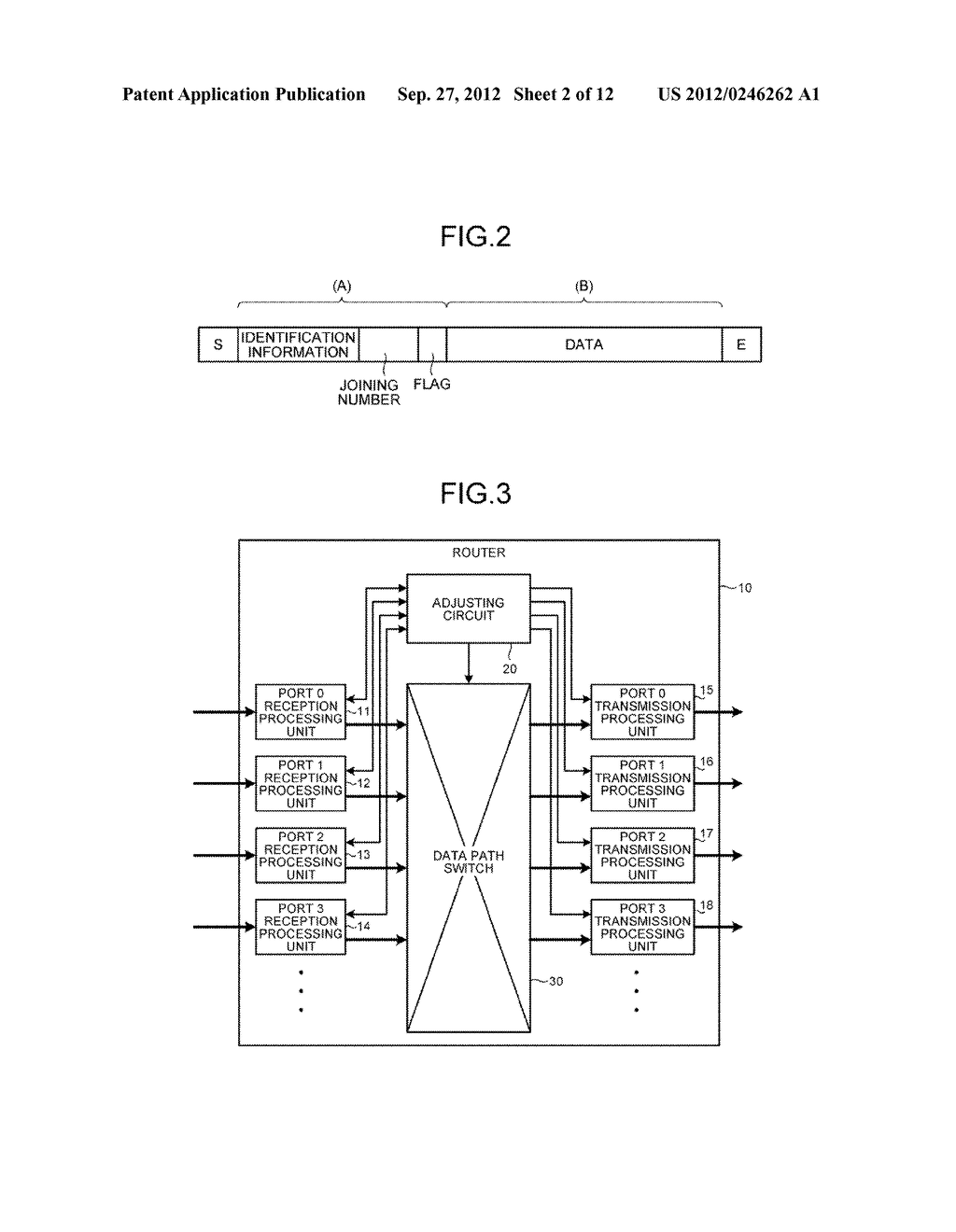 DATA TRANSMITTING DEVICE, PARALLEL COMPUTER SYSTEM, AND CONTROLLING METHOD - diagram, schematic, and image 03
