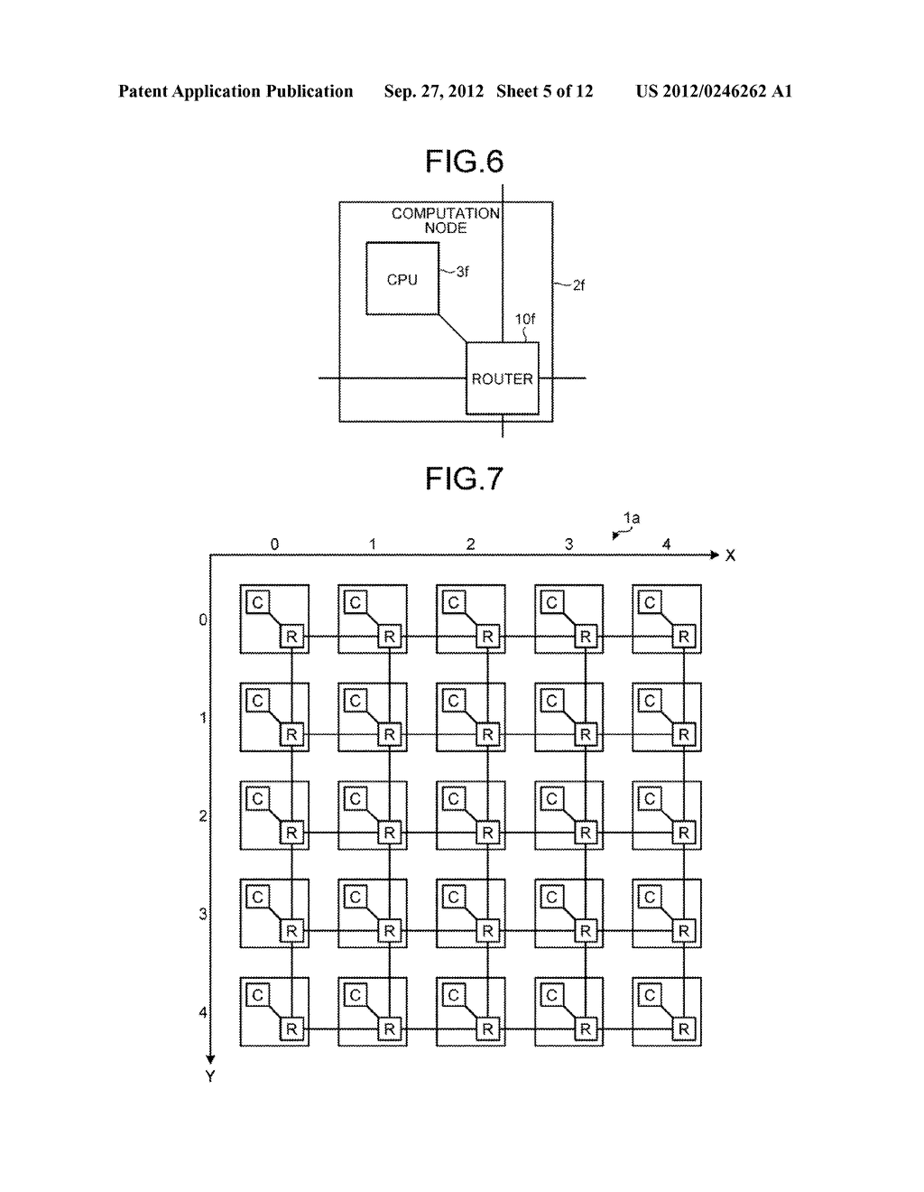 DATA TRANSMITTING DEVICE, PARALLEL COMPUTER SYSTEM, AND CONTROLLING METHOD - diagram, schematic, and image 06