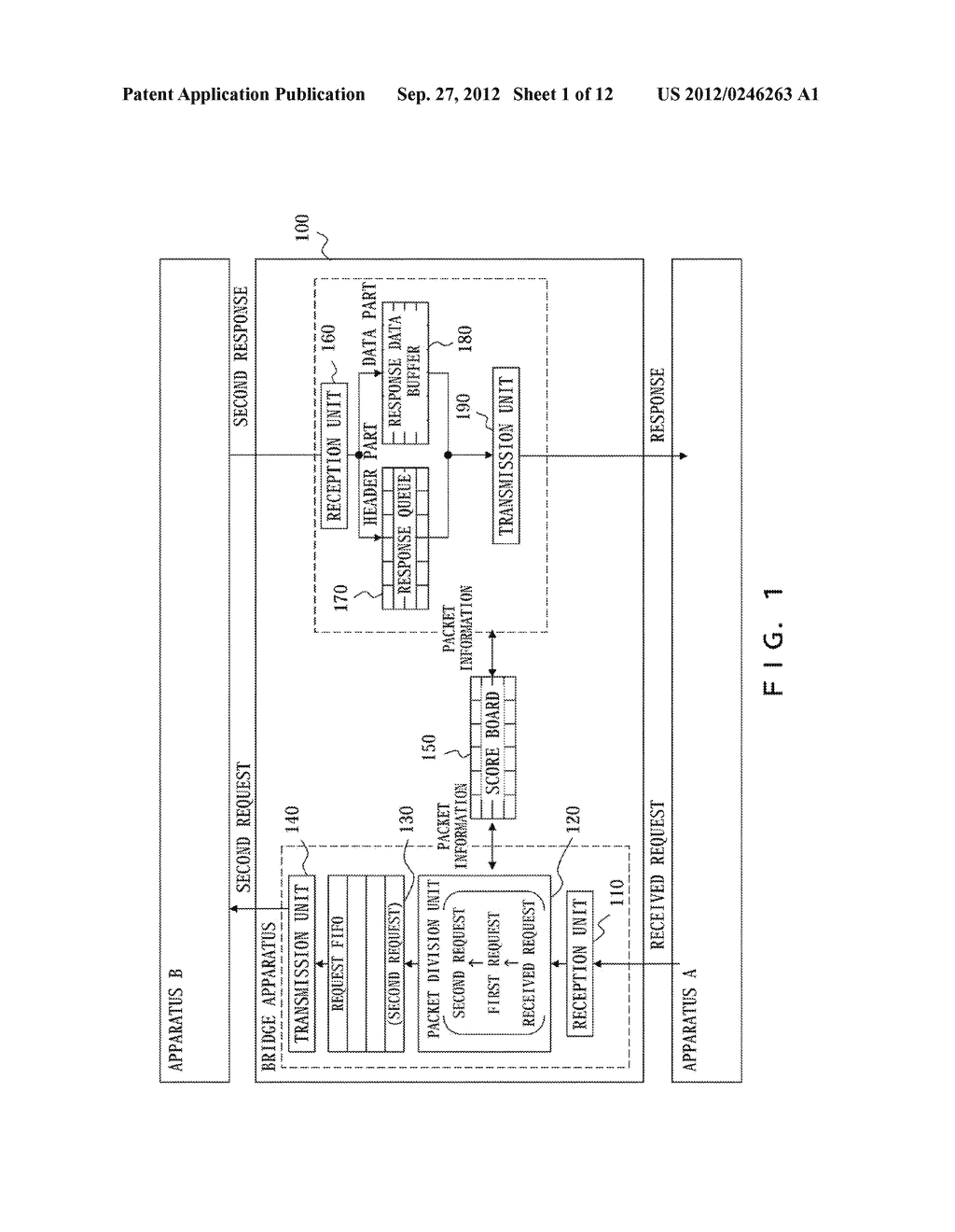 DATA TRANSFER APPARATUS, DATA TRANSFER METHOD, AND INFORMATION PROCESSING     APPARATUS - diagram, schematic, and image 02