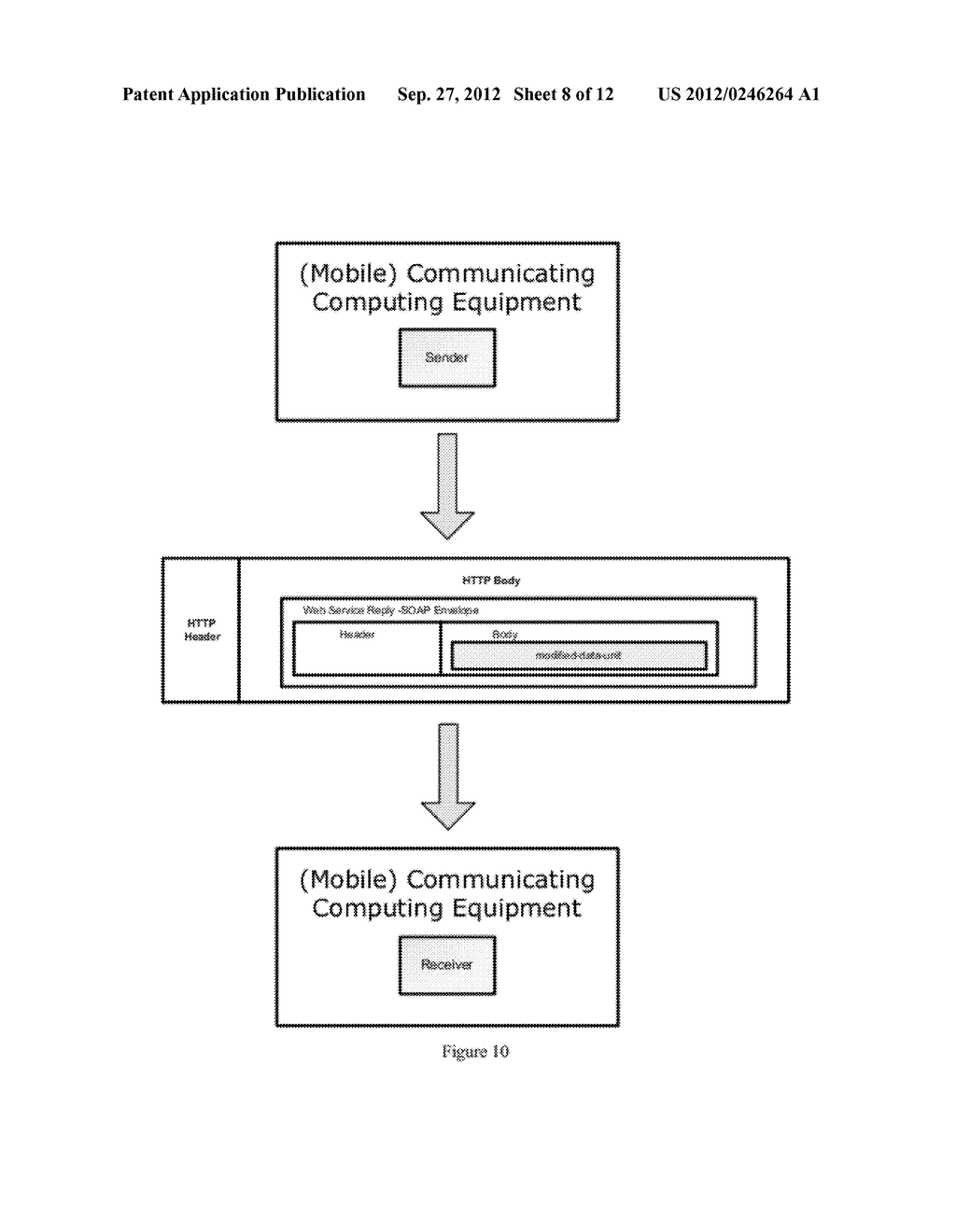 Data Exchange Between Communicating Computing Equipment Using Differential     Information - diagram, schematic, and image 09