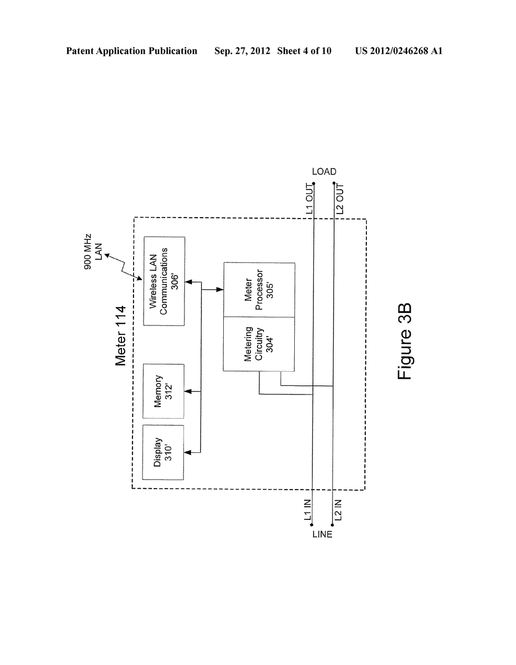 Internet Protocol Message Routing Over A Wireless Network Of Metering     Devices - diagram, schematic, and image 05