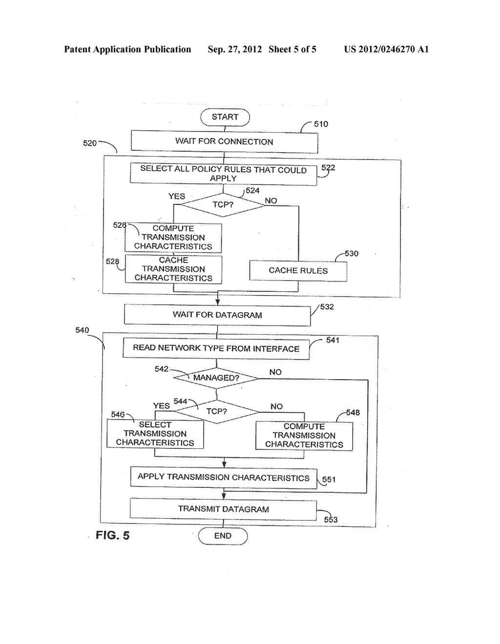 SELECTIVELY ENABLED QUALITY OF SERVICE POLICY - diagram, schematic, and image 06