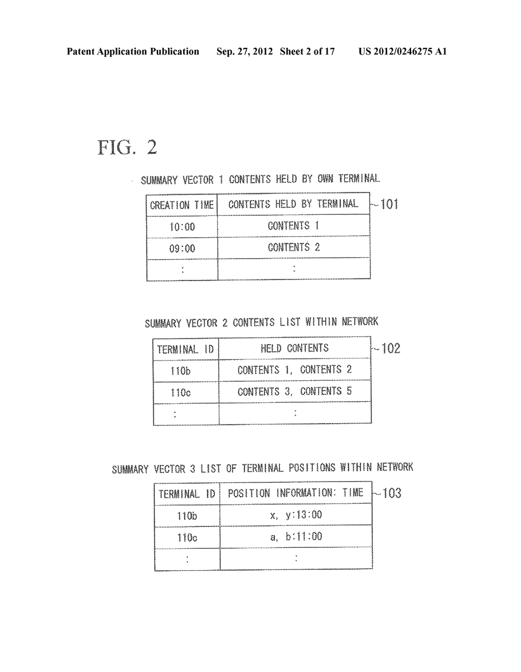 INFORMATION SHARING SYSTEM, COMMUNICATION APPARATUS, CONTROL METHOD AND     COMPUTER PROGRAM - diagram, schematic, and image 03