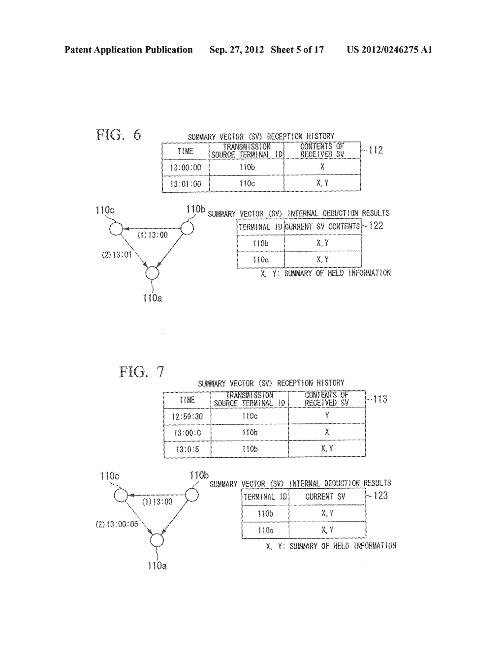 INFORMATION SHARING SYSTEM, COMMUNICATION APPARATUS, CONTROL METHOD AND     COMPUTER PROGRAM - diagram, schematic, and image 06