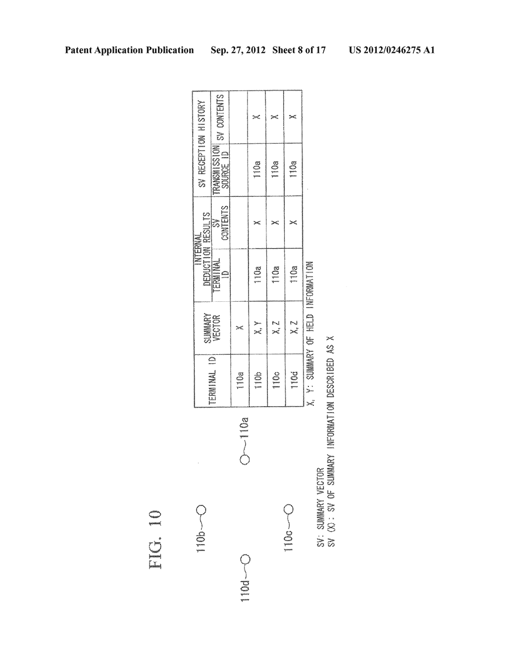 INFORMATION SHARING SYSTEM, COMMUNICATION APPARATUS, CONTROL METHOD AND     COMPUTER PROGRAM - diagram, schematic, and image 09