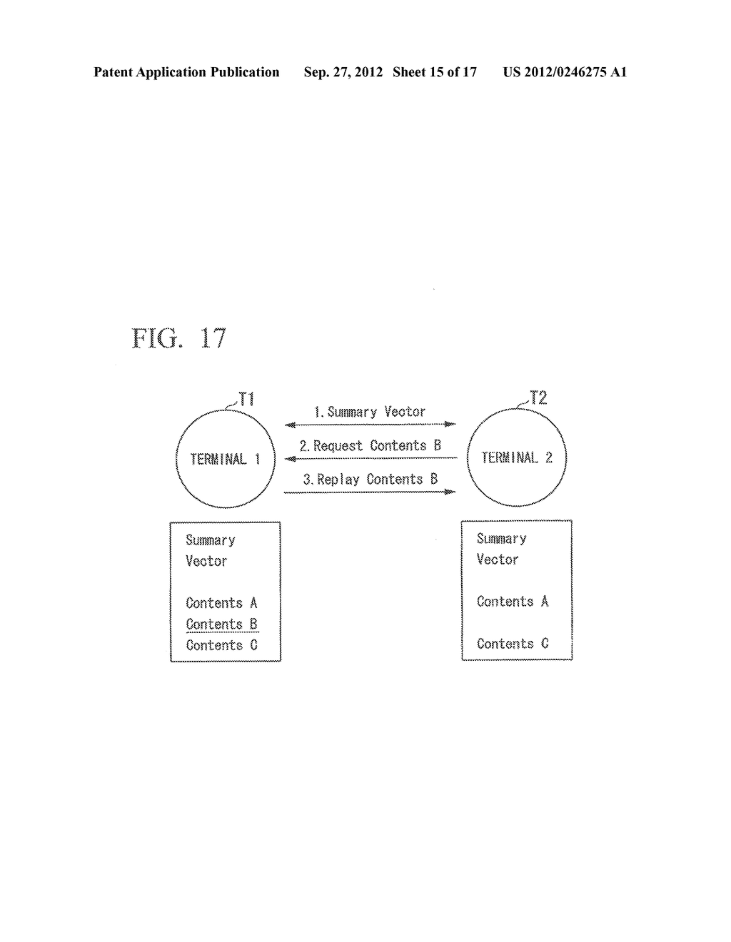 INFORMATION SHARING SYSTEM, COMMUNICATION APPARATUS, CONTROL METHOD AND     COMPUTER PROGRAM - diagram, schematic, and image 16