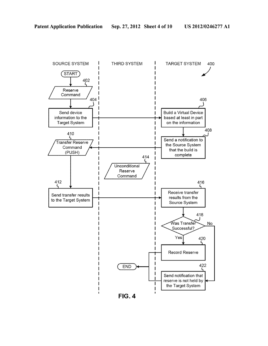 METHODS FOR TRANSFERRING RESERVES WHEN MOVING VIRTUAL MACHINES ACROSS     SYSTEMS - diagram, schematic, and image 05