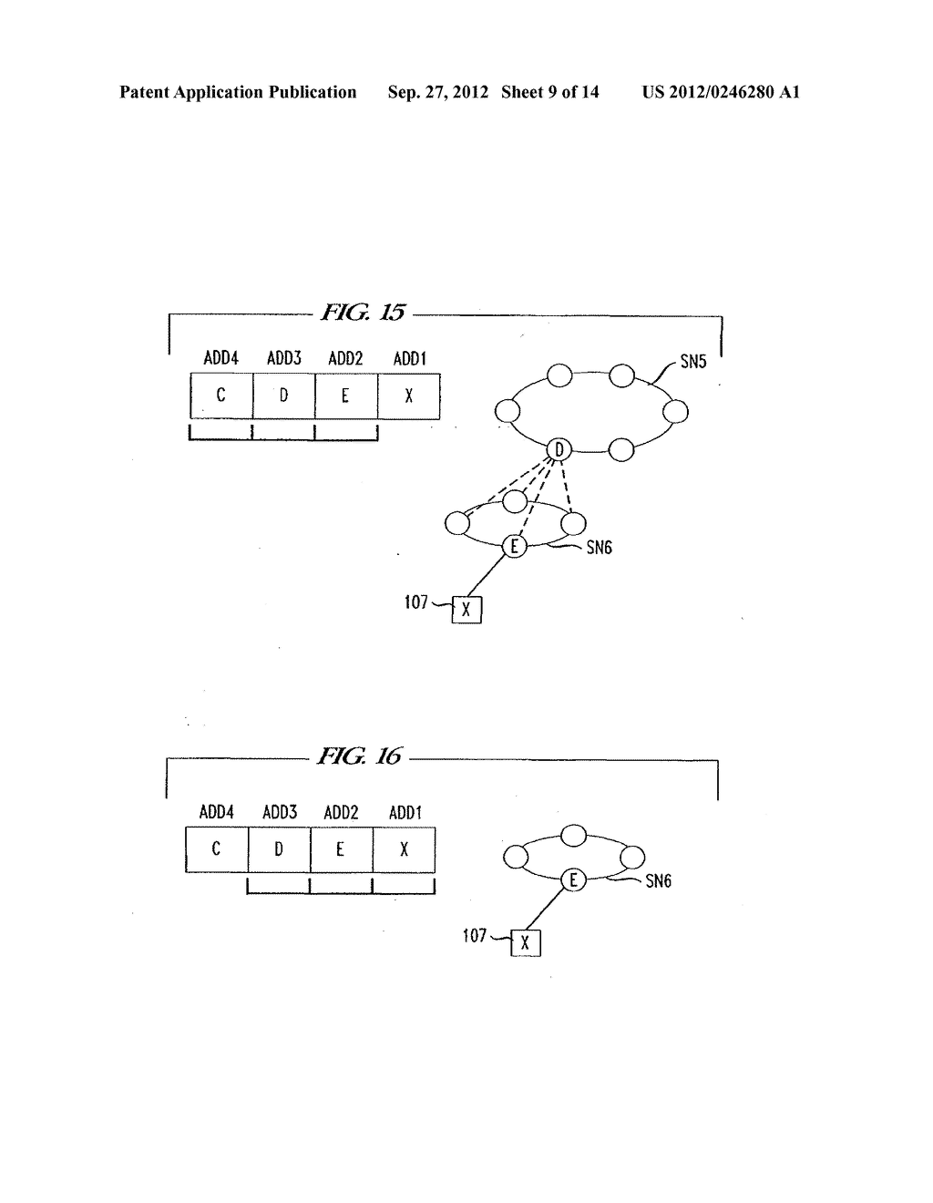 COMMUNICATION NETWORK APPARATUS AND METHOD - diagram, schematic, and image 10