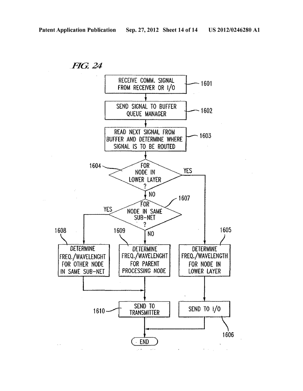 COMMUNICATION NETWORK APPARATUS AND METHOD - diagram, schematic, and image 15