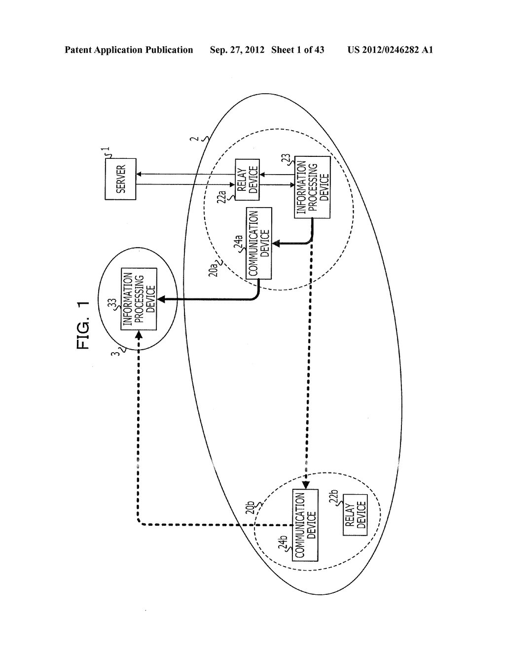 COMMUNICATION SETTING METHOD, SERVER, RELAY DEVICE, COMMUNICATION SYSTEM,     AND INFORMATION PROCESSING DEVICE - diagram, schematic, and image 02