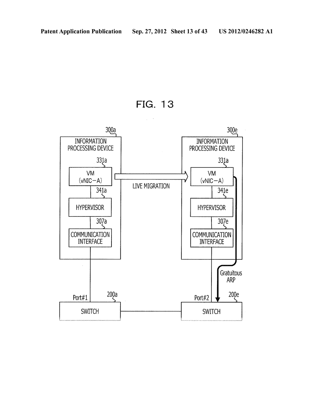 COMMUNICATION SETTING METHOD, SERVER, RELAY DEVICE, COMMUNICATION SYSTEM,     AND INFORMATION PROCESSING DEVICE - diagram, schematic, and image 14