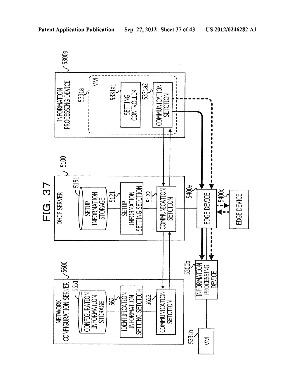 COMMUNICATION SETTING METHOD, SERVER, RELAY DEVICE, COMMUNICATION SYSTEM,     AND INFORMATION PROCESSING DEVICE - diagram, schematic, and image 38