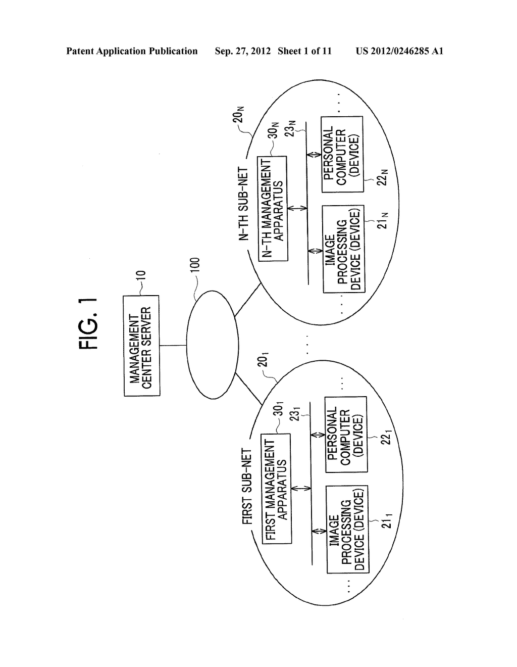 MANAGEMENT SYSTEM, MANAGEMENT APPARATUS, MANAGEMENT METHOD, AND     NON-TRANSITORY COMPUTER READABLE MEDIUM STORING CONTROL PROGRAM - diagram, schematic, and image 02