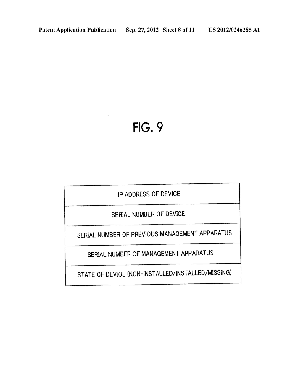 MANAGEMENT SYSTEM, MANAGEMENT APPARATUS, MANAGEMENT METHOD, AND     NON-TRANSITORY COMPUTER READABLE MEDIUM STORING CONTROL PROGRAM - diagram, schematic, and image 09