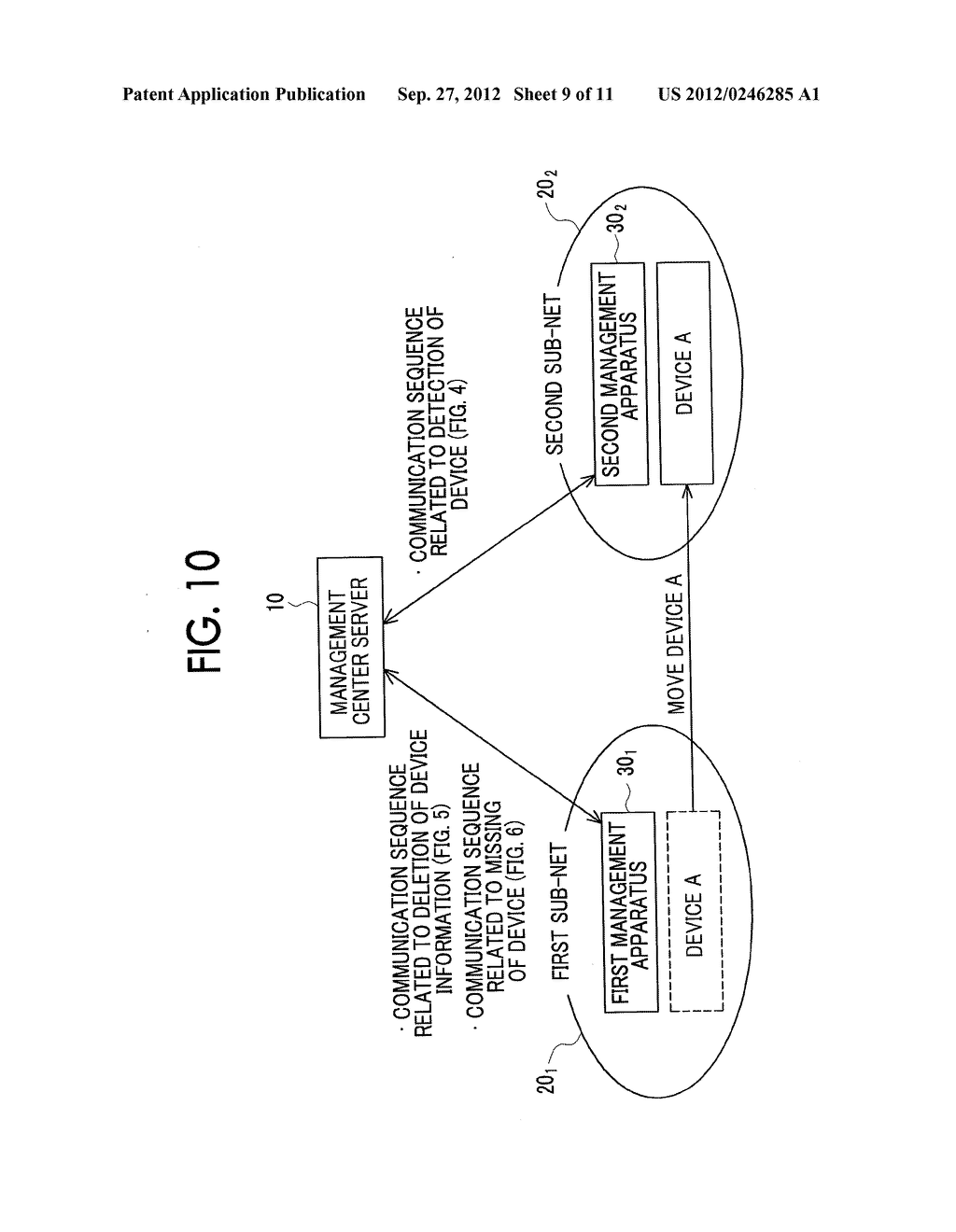 MANAGEMENT SYSTEM, MANAGEMENT APPARATUS, MANAGEMENT METHOD, AND     NON-TRANSITORY COMPUTER READABLE MEDIUM STORING CONTROL PROGRAM - diagram, schematic, and image 10