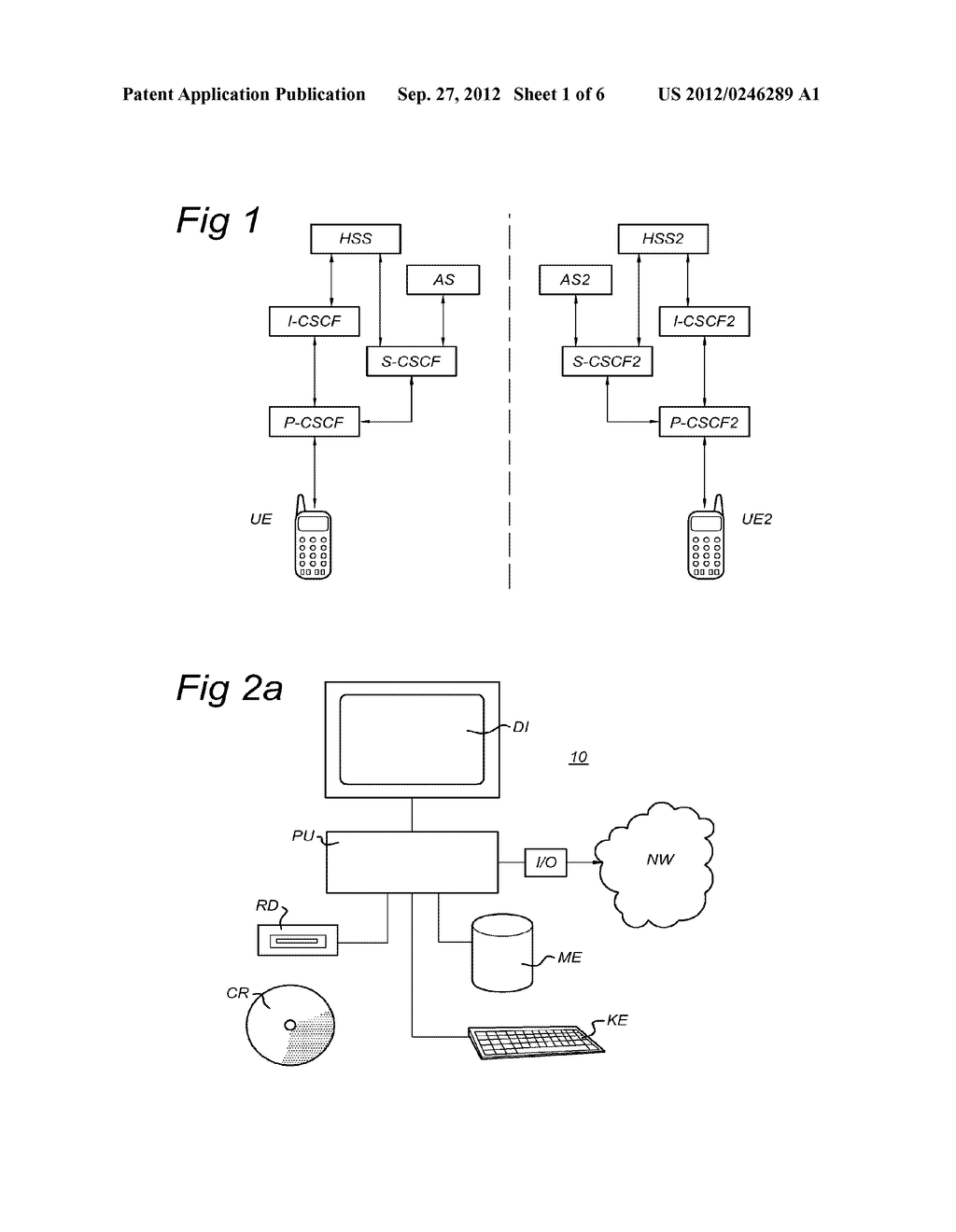 Control Entity and Method for Setting up a Session in a Communications     Network, Subscriber Database and Communications Network - diagram, schematic, and image 02