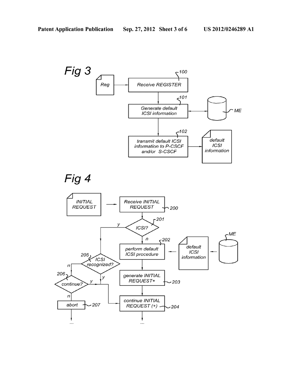 Control Entity and Method for Setting up a Session in a Communications     Network, Subscriber Database and Communications Network - diagram, schematic, and image 04