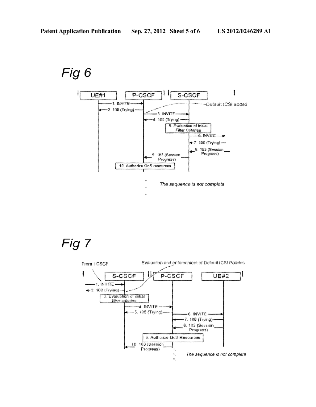 Control Entity and Method for Setting up a Session in a Communications     Network, Subscriber Database and Communications Network - diagram, schematic, and image 06
