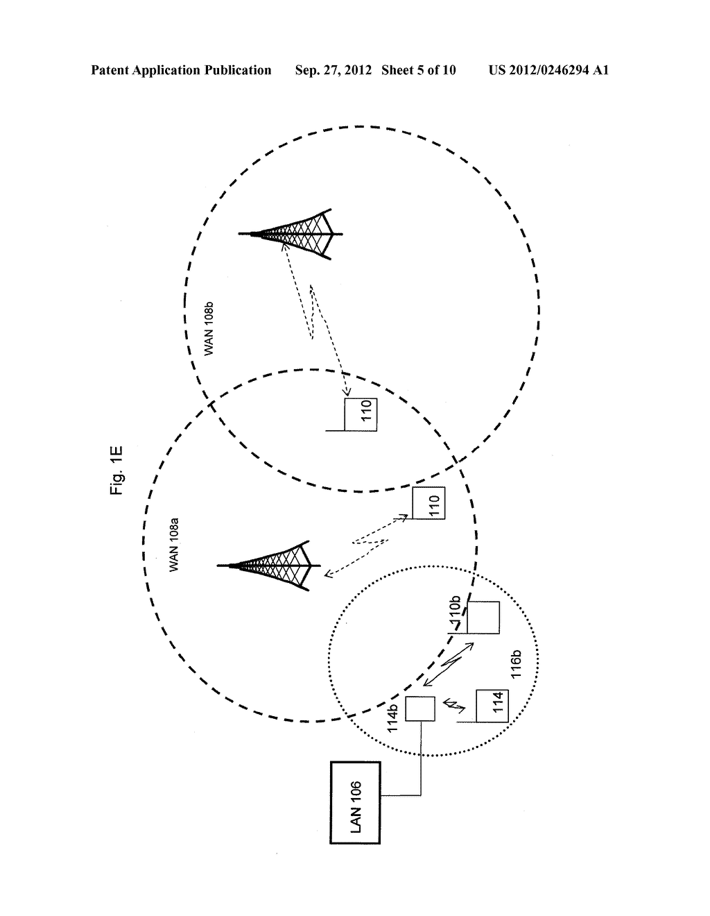 SYSTEM AND METHOD OF SELECTING DEVICES TO COMMUNICATE WITH A NODE IN A     COMMUNICATION NETWORK - diagram, schematic, and image 06