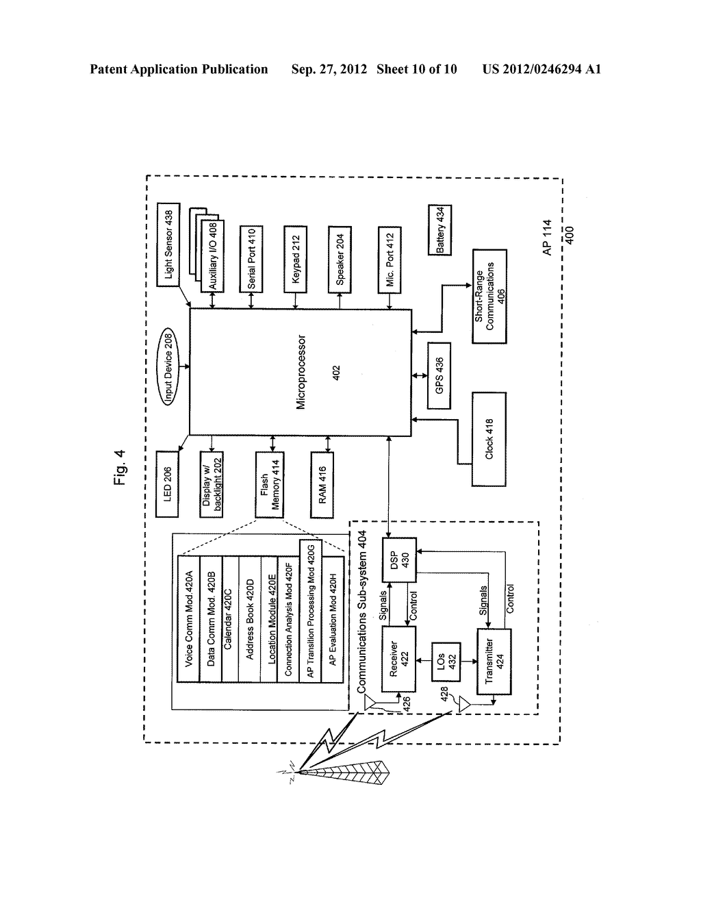 SYSTEM AND METHOD OF SELECTING DEVICES TO COMMUNICATE WITH A NODE IN A     COMMUNICATION NETWORK - diagram, schematic, and image 11