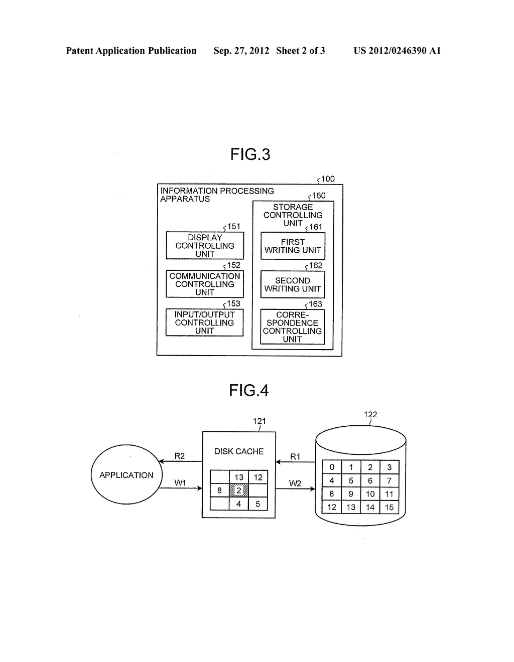 INFORMATION PROCESSING APPARATUS, PROGRAM PRODUCT, AND DATA WRITING METHOD - diagram, schematic, and image 03