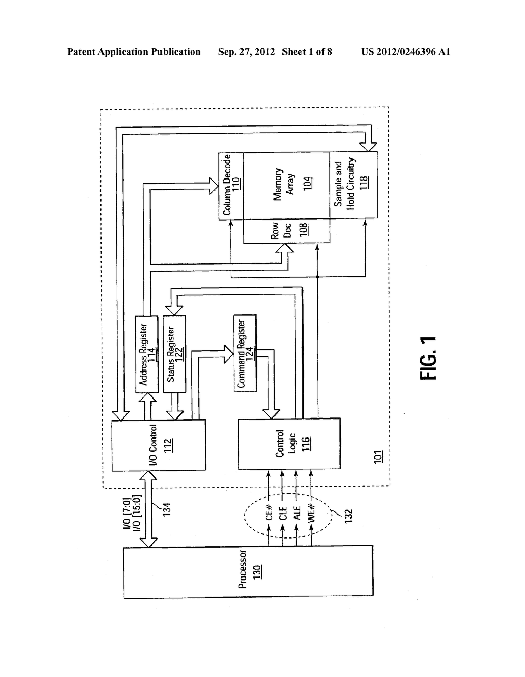 NON-VOLATILE MEMORY DEVICE HAVING ASSIGNABLE NETWORK IDENTIFICATION - diagram, schematic, and image 02