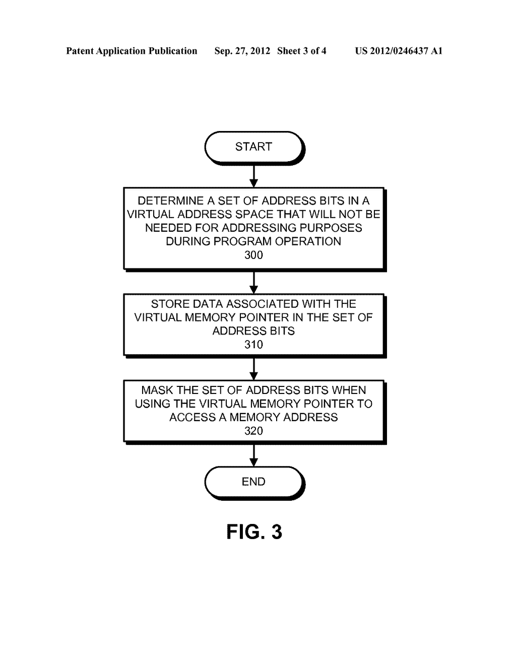 METHOD AND APPARATUS FOR USING UNUSED BITS IN A MEMORY POINTER - diagram, schematic, and image 04