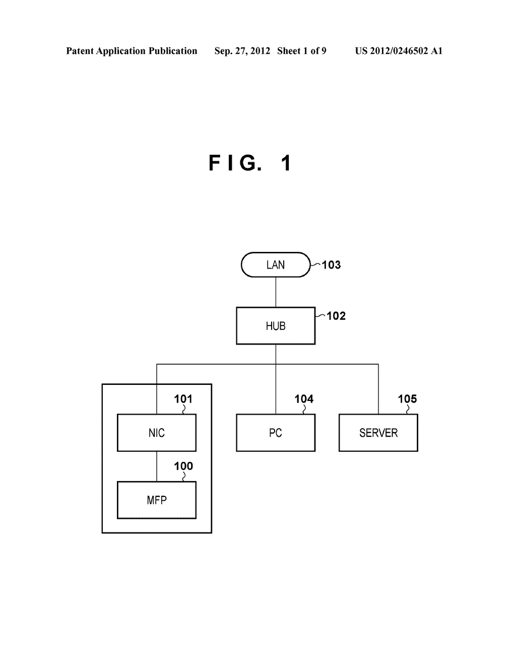 INFORMATION PROCESSING APPARATUS, CONTROL METHOD THEREFOR, AND STORAGE     MEDIUM - diagram, schematic, and image 02