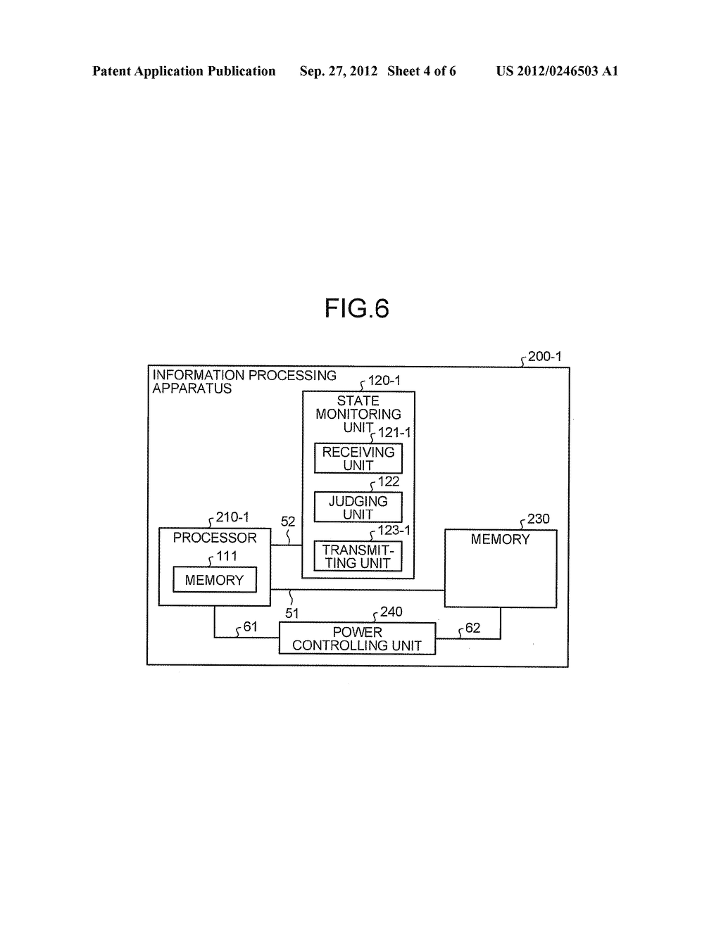 INFORMATION PROCESSING APPARATUS AND JUDGING METHOD - diagram, schematic, and image 05
