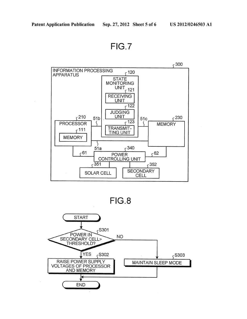 INFORMATION PROCESSING APPARATUS AND JUDGING METHOD - diagram, schematic, and image 06