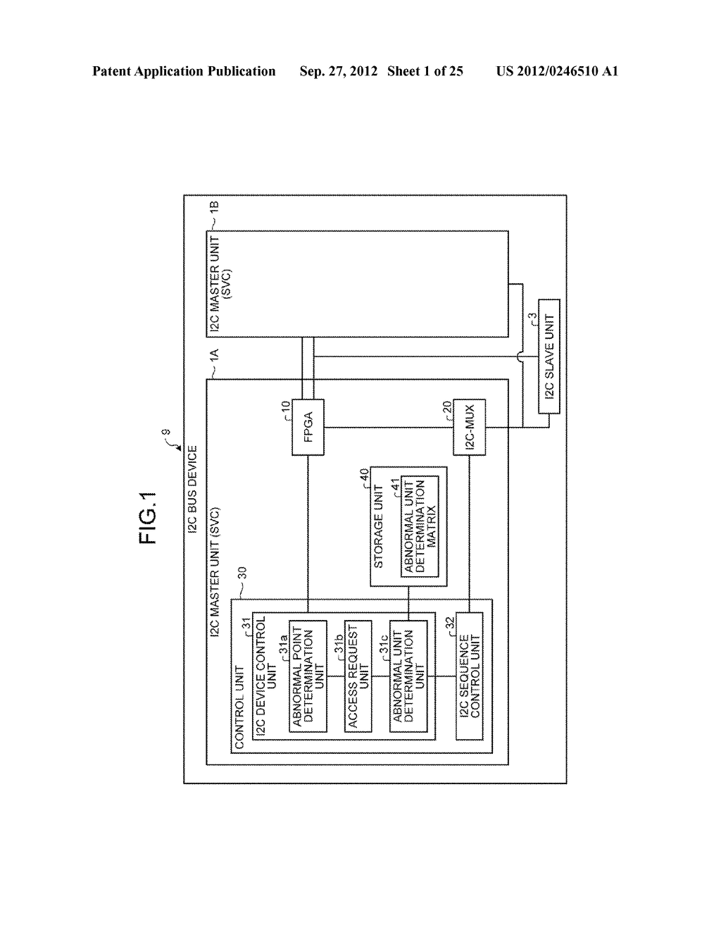 INFORMATION PROCESSING APPARATUS, CONTROL DEVICE, AND ABNORMAL UNIT     DETERMINATION METHOD - diagram, schematic, and image 02