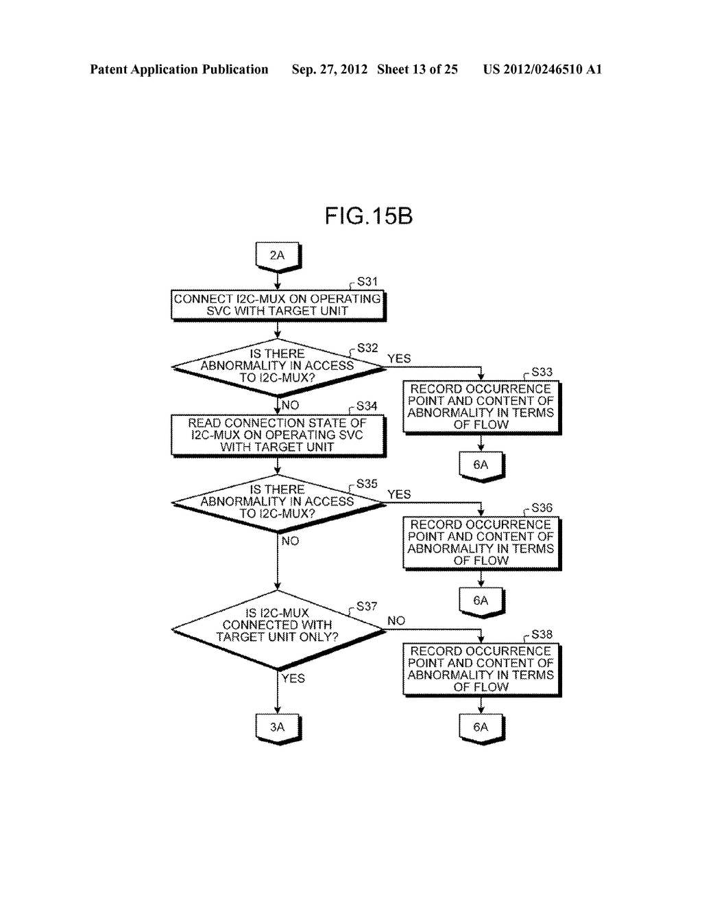 INFORMATION PROCESSING APPARATUS, CONTROL DEVICE, AND ABNORMAL UNIT     DETERMINATION METHOD - diagram, schematic, and image 14