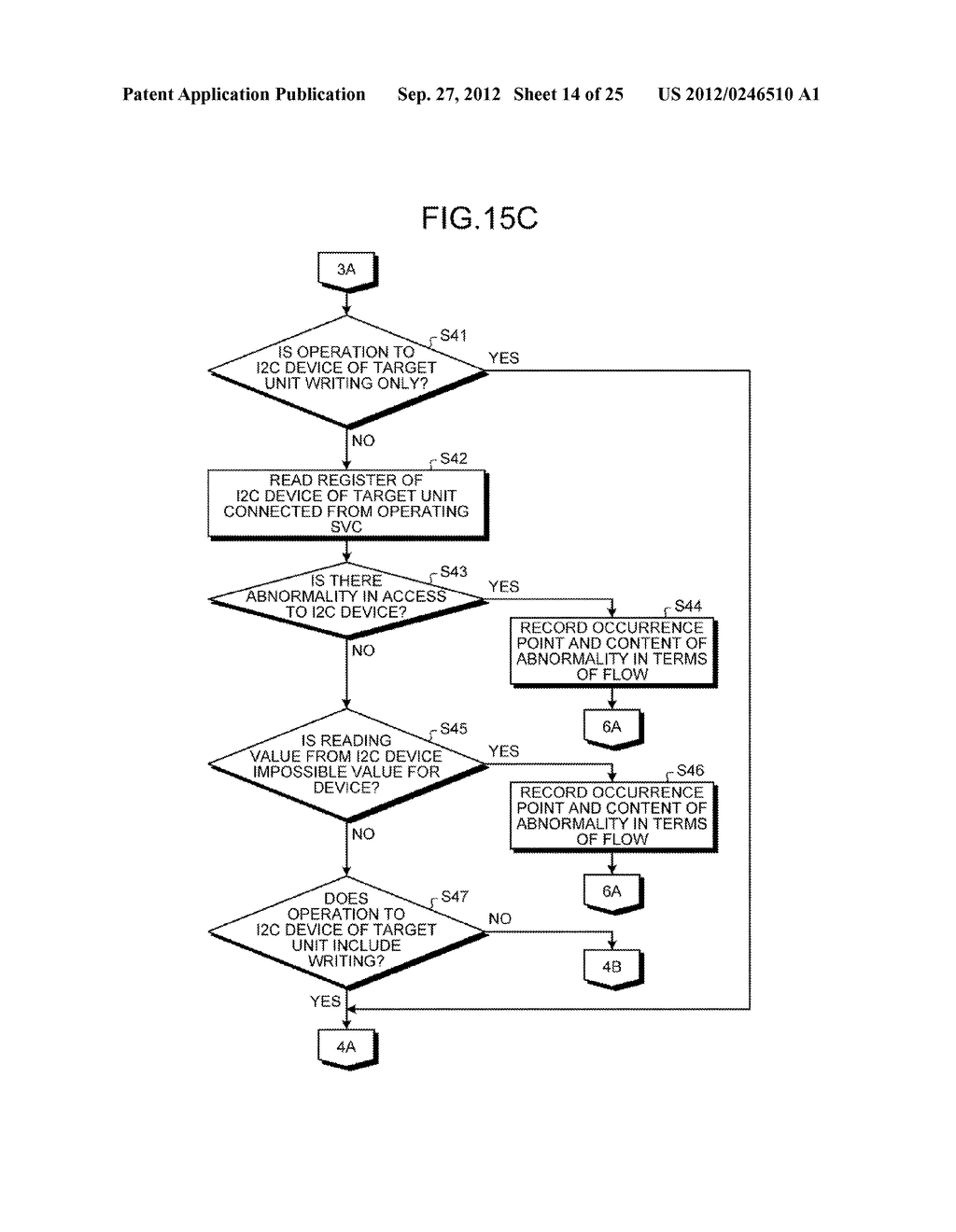 INFORMATION PROCESSING APPARATUS, CONTROL DEVICE, AND ABNORMAL UNIT     DETERMINATION METHOD - diagram, schematic, and image 15